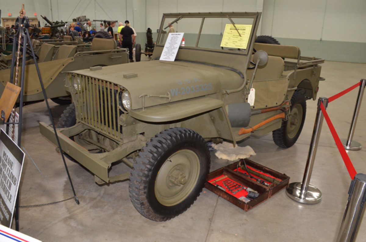 Restored Class Silver Award - Dee Pierini's 1941 Willys MB