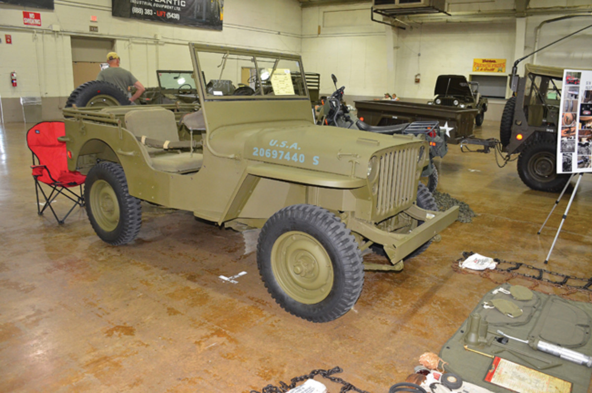 Restored Class Master Class Award - Thomas Zackman's 1945 Willys MB