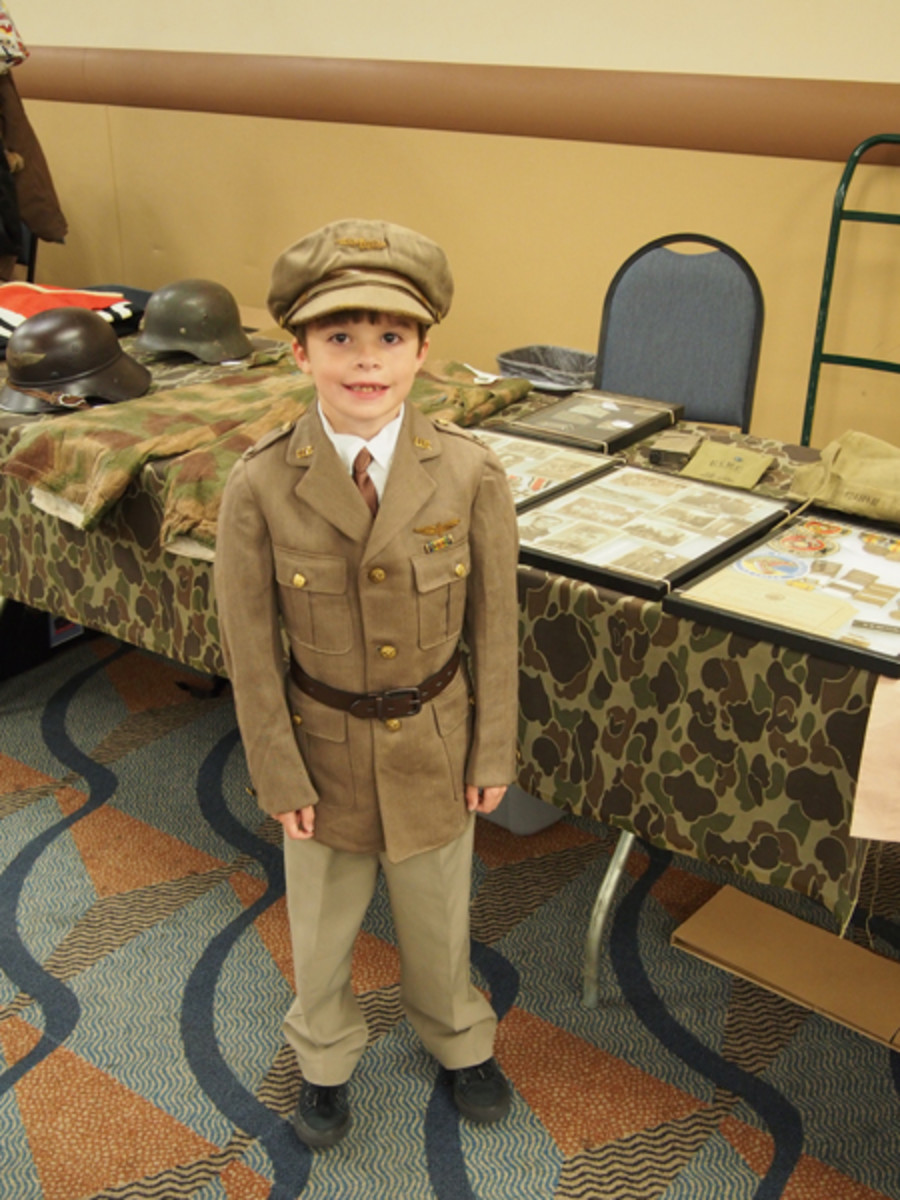 A future collector who we hope to see at York as well as at Show Of Shows and other future events.