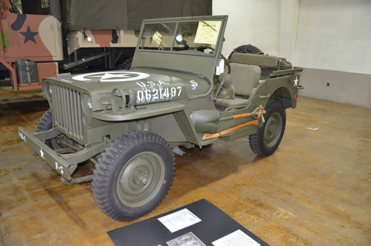 Restored Class Gold Award - Peter Ferris' 1944 Willys MB.