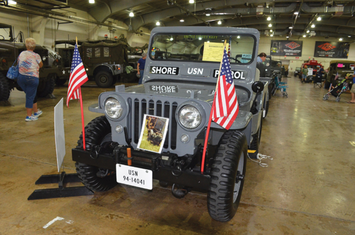 Restored Class Silver Award - Robert Abernethy's 1953 Willys Motors CJ-3A.