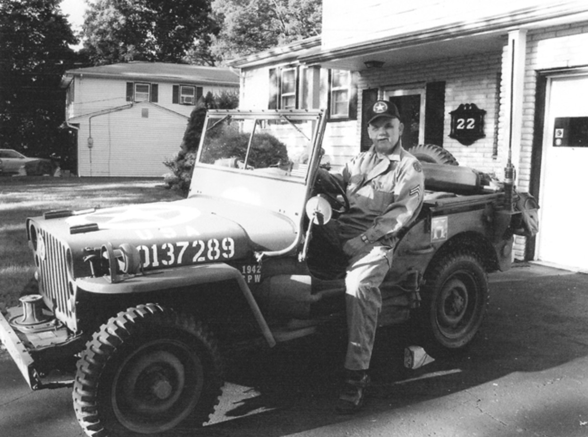 It was Harold's boyhood dream to have a military Jeep. At 89, he has enjoyed my Jeep for many decades.