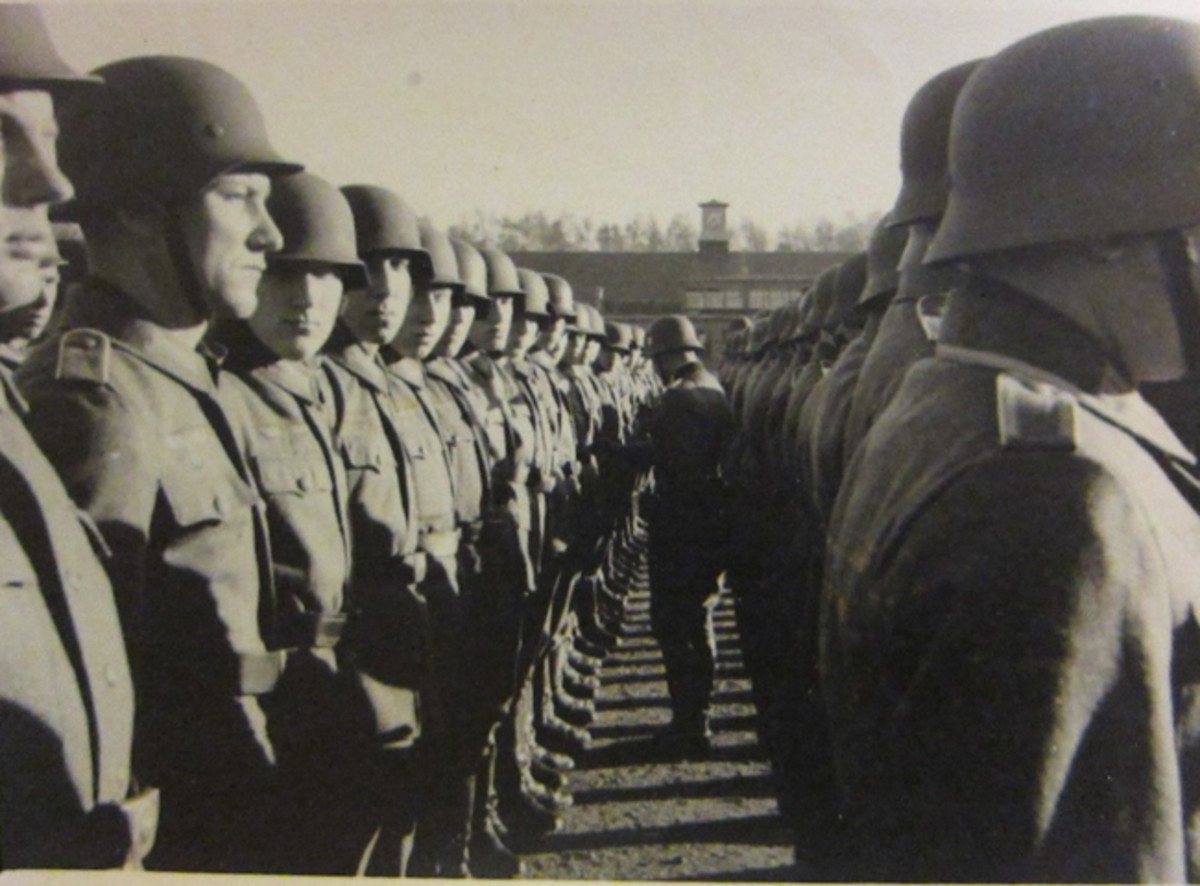 When Germany began to mobilize of hundreds of thousands of soldiers, it had to devise a system to of meticulous record keeping. One method was to issue each conscript a book — a Wehrpass — in which personal information was maintained. After the person was accepted into a branch of service, the Wehrpass was exchanged for a Soldbuch.