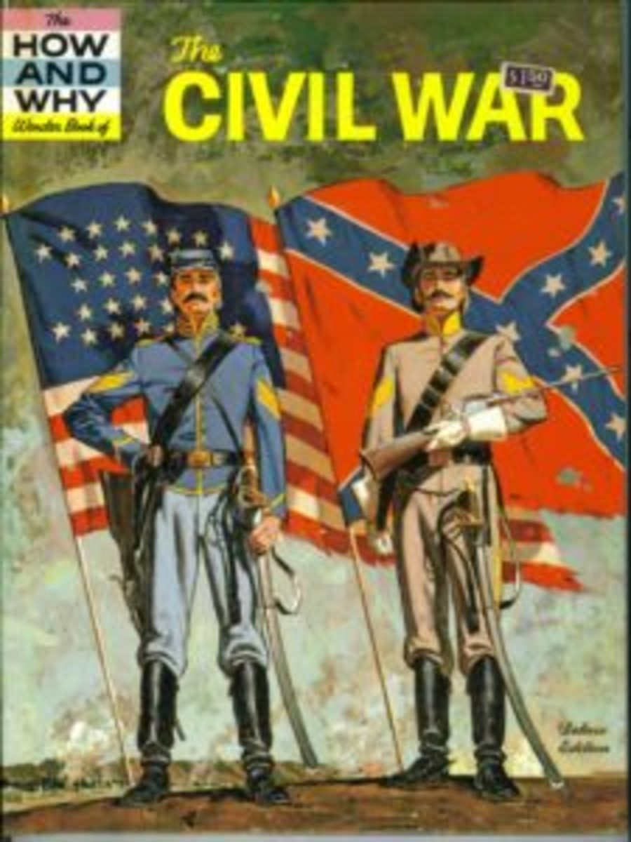 The How and Why Wonder Book of The Civil War was my very first military history book. When I was 4, my Grandmother would read it to me so often, I began to memorize the stories it had to share.