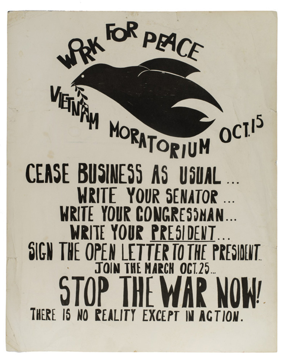 Work for Peace, 1969.