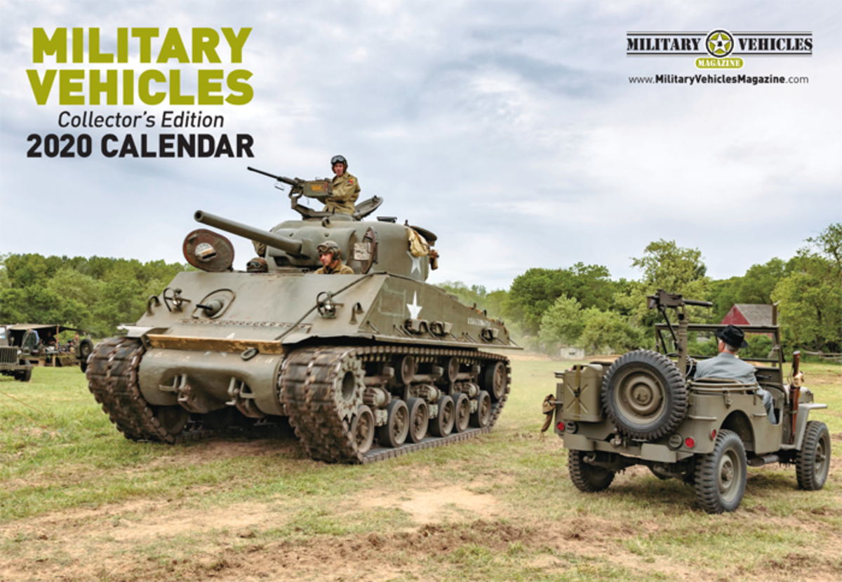 The 2020 Military Vehicles Collector's Edition calendar