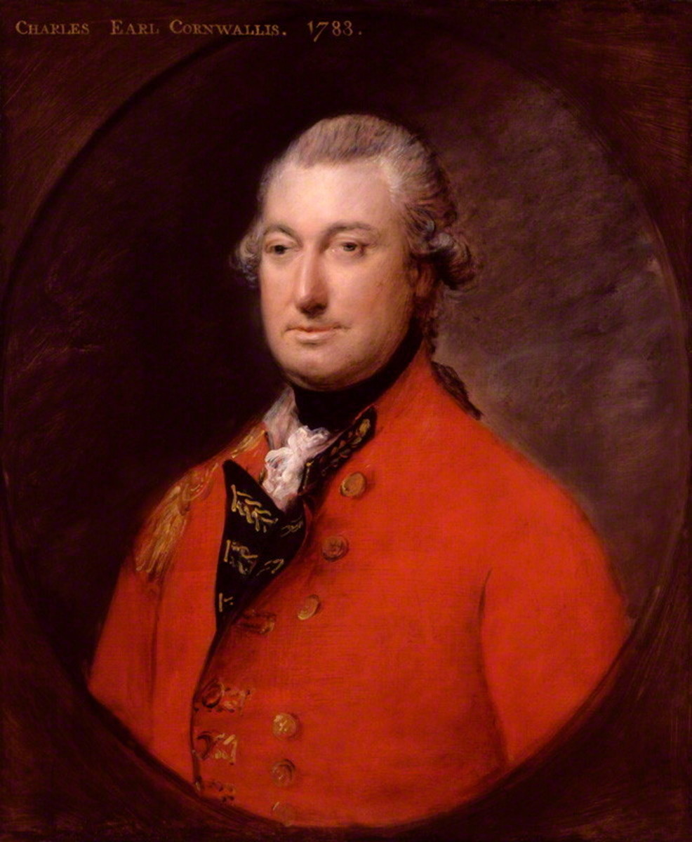 Portrait of Lord Cornwallis (1738 - 1805), National Portrait Gallery