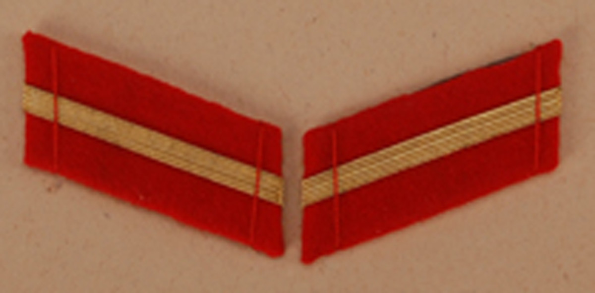 Staff Lance Corporal, $16-18