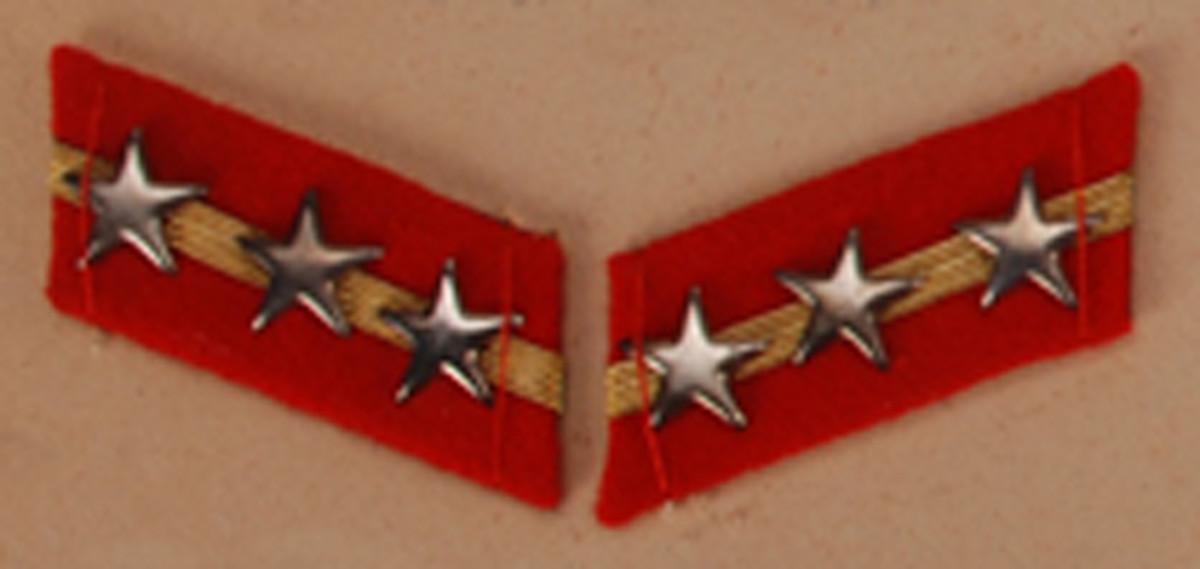 Sergeant Major $30-35