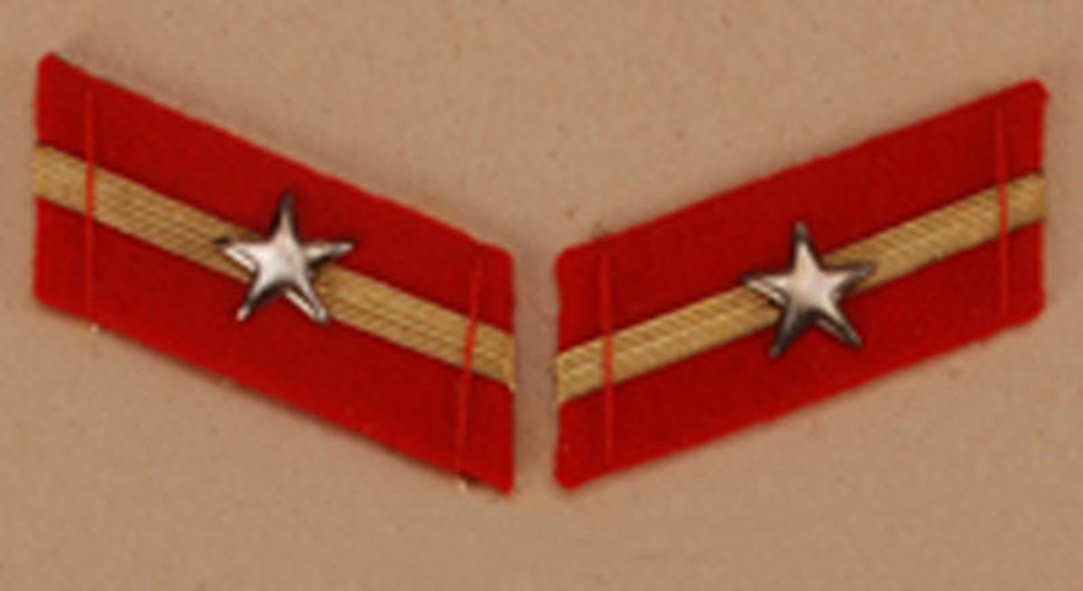 Corporal, $20-25