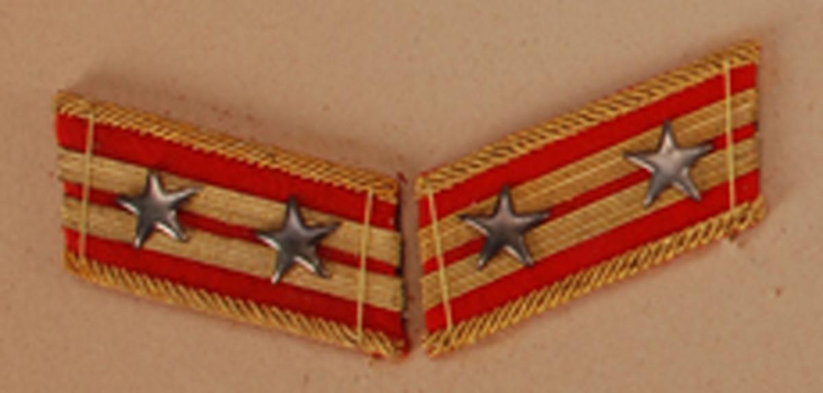Lieutenant Colonel, $125-165