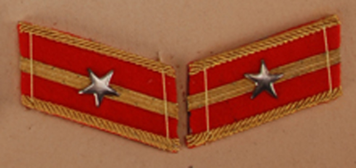 Second Lieutenant, $55-65