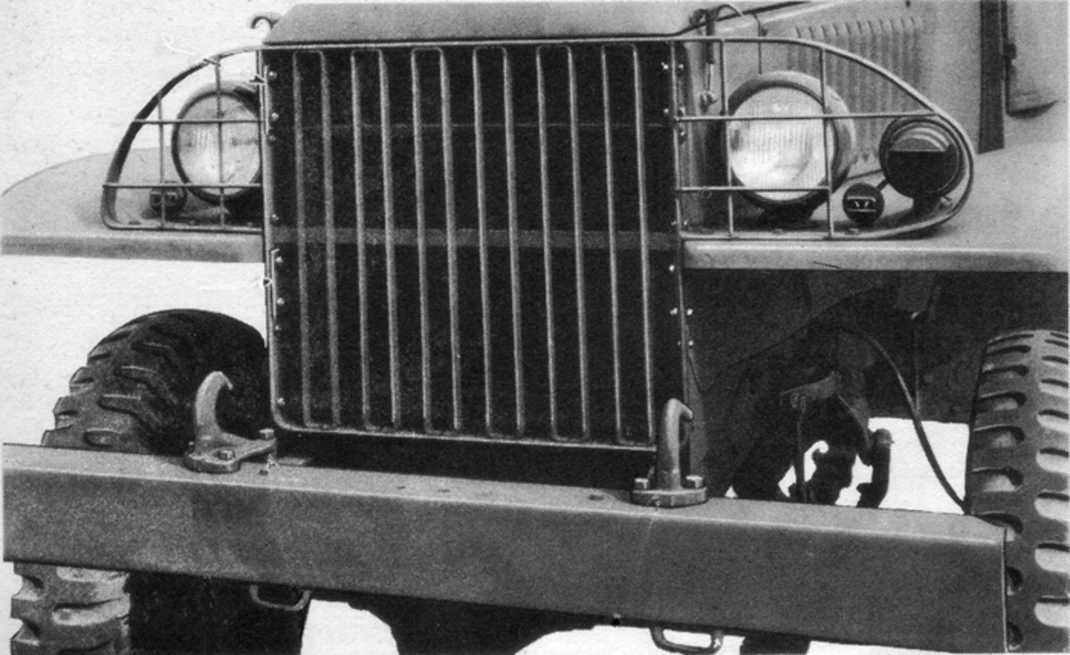 There are two basic types of lighting systems found on most common U.S. military vehicles in the MV hobby. These are the WWII type (shown here) and the post-war, or M-series, systems. Although the systems themselves are similar, many of their components and switches are different.