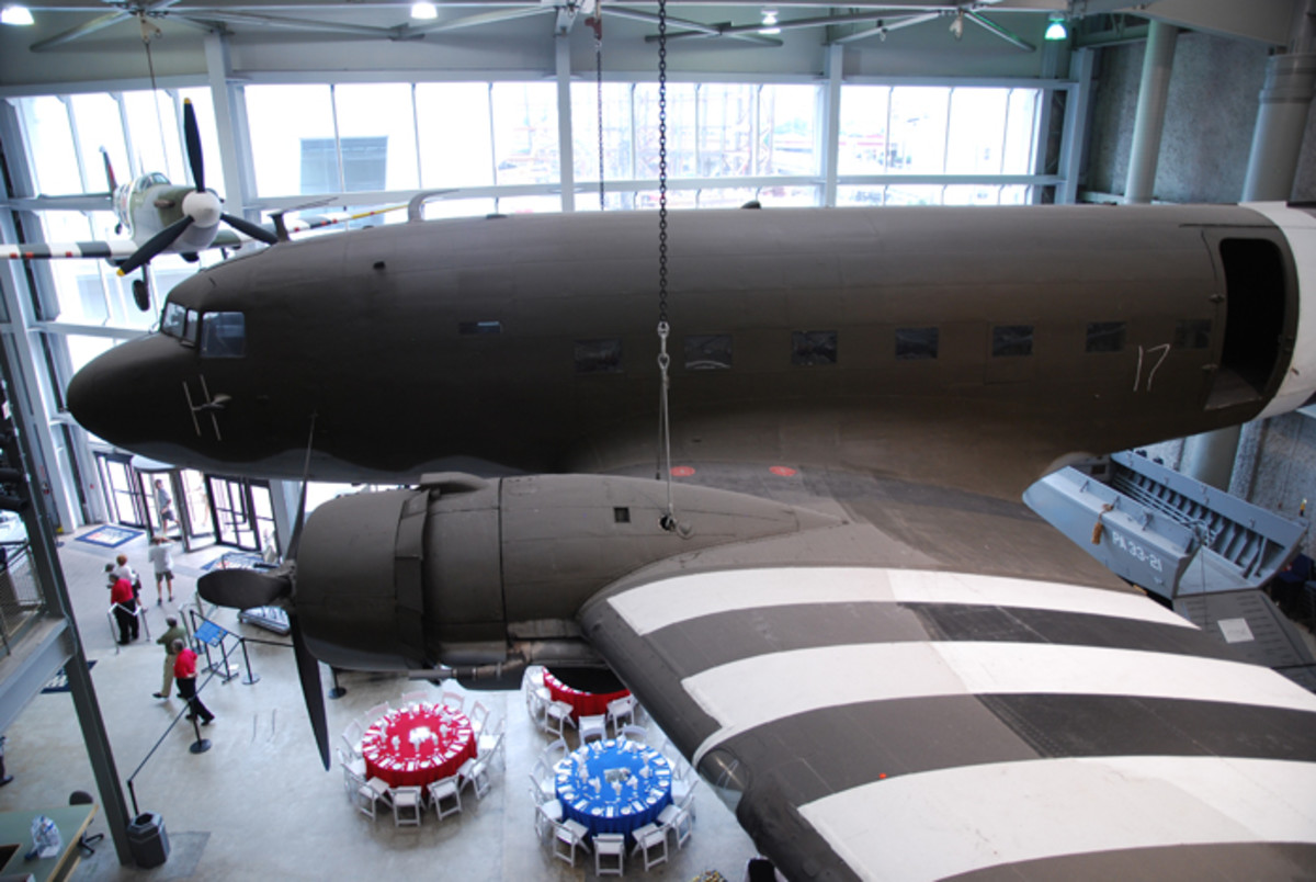 "Anyone familiar with HBO's ""Band of Brothers"" will recognize the Douglas C-53 Skytrooper, the paratroop variant of the C-47 Skytrain."
