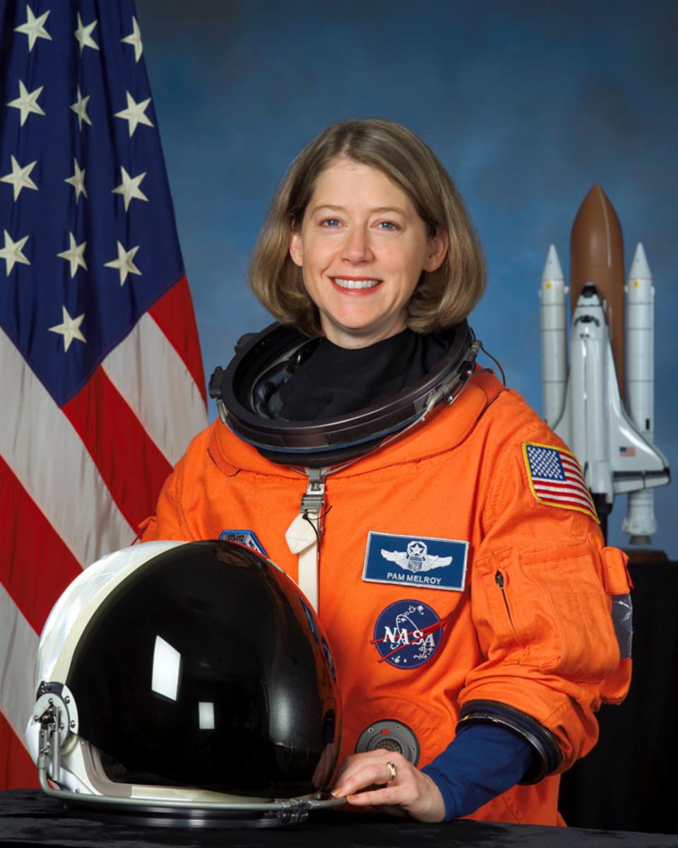 Astronaut Pamela A. Melroy