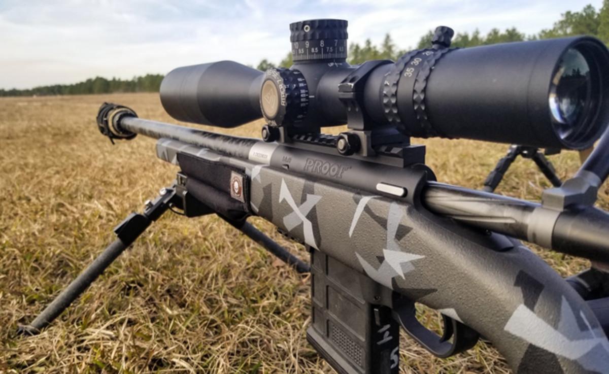 Optics on Sniper Rifle