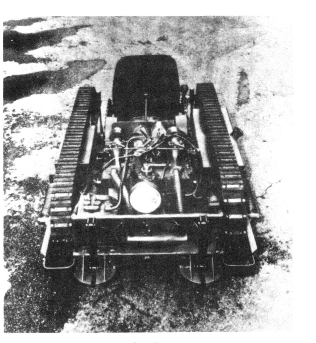 The Crosley Tug was used mainly as a tow vehicle, but came in several other configurations, including a self-propelled gun mount.