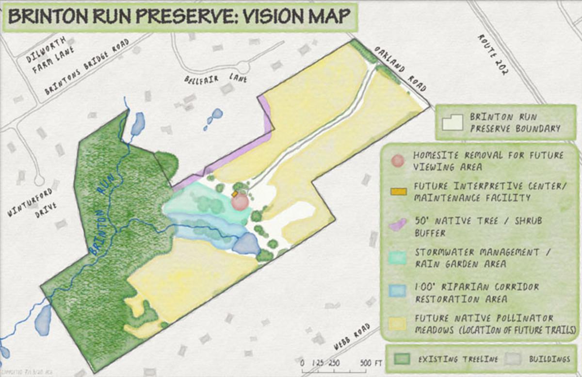 Brinton Run Vision Map