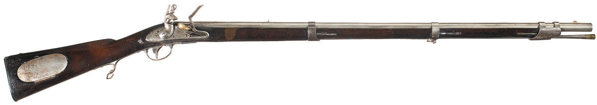 """Known as the """"Common Rifle"""" to distinguish it from the Hall breech-loading flintlock rifle, the Model 1817 Flintlock Rifle was the standard U.S. infantry rifle from 1817 until the adoption of the U.S. Model 1841 Rifle around the time of the Mexican War."""
