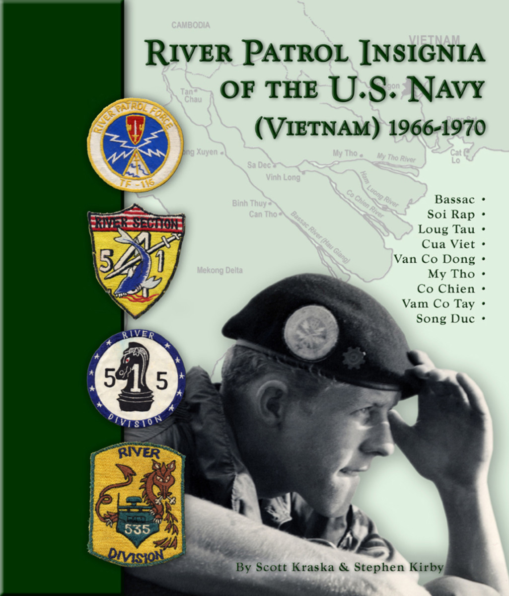 River Patrol Insignia of the U.S. Navy (Vietnam) 1966-1970 is unusual in that 99% of what is illustrated was collected directly from veterans. It is available through Amazon
