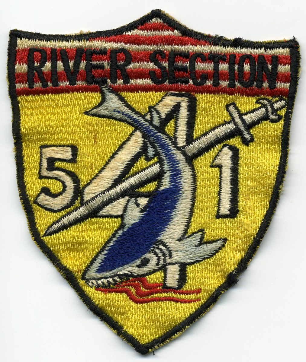 Original Japanese-made River Division 541 version worn by the unit.
