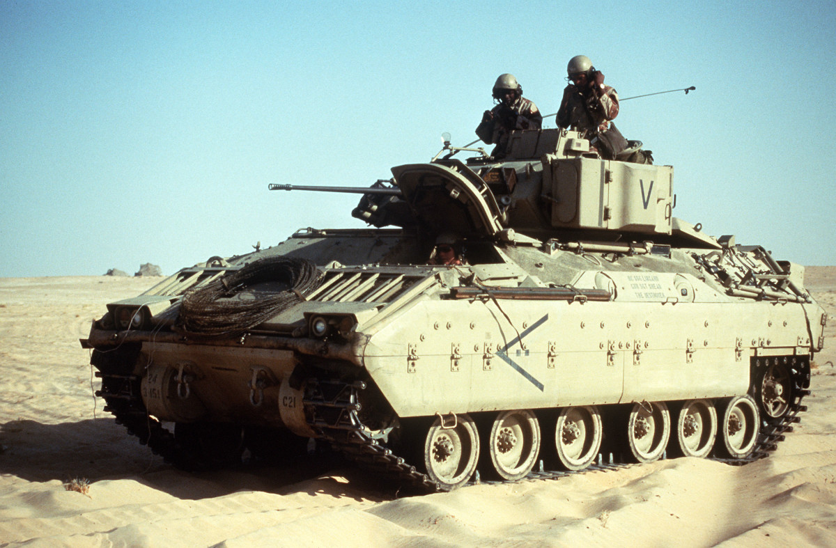 M2 Bradley of the 24th Infantry Division