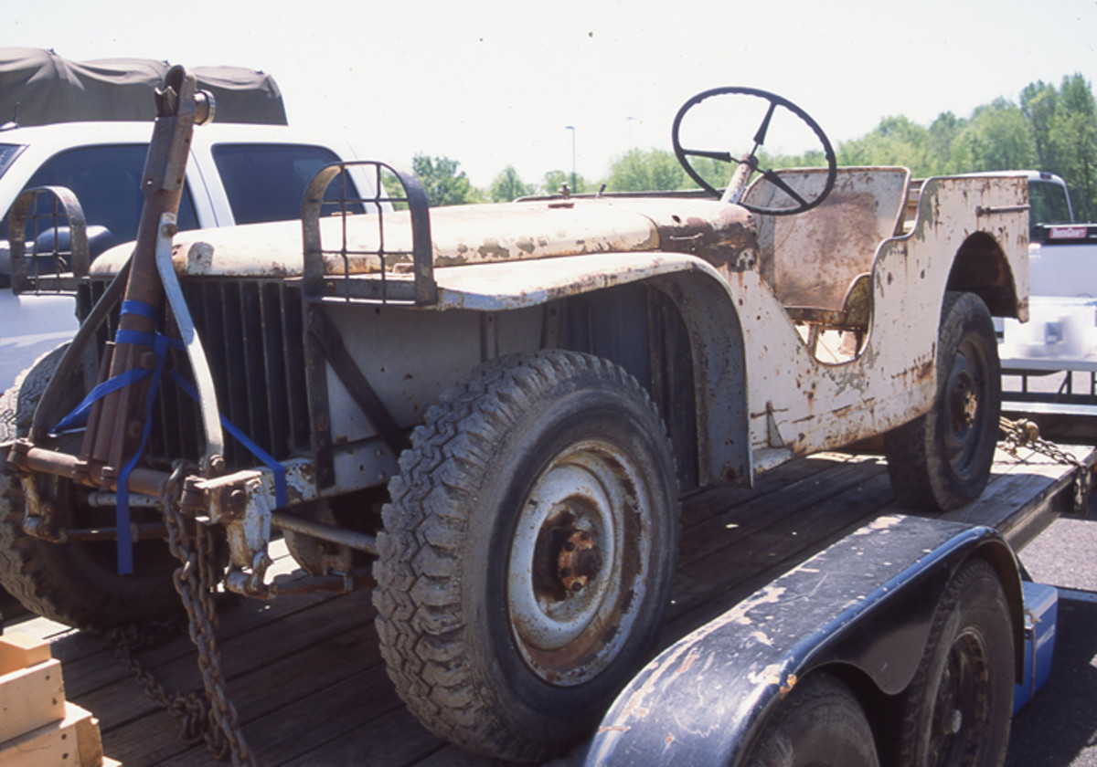 The second Ford pilot was discovered in 1998 derelict in a field in California. A private collector in the United Kingdom acquired restored it.