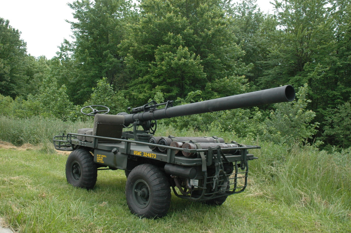 M274A5 with Recoilless Rifle restored by Nick DeNardo