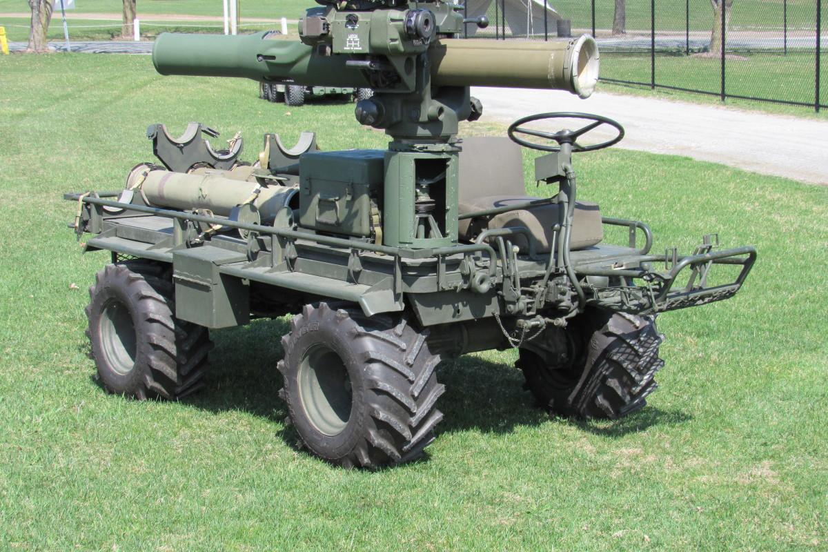1965 Baifield M274A4 TOW mule, restored by Nick DeNardo