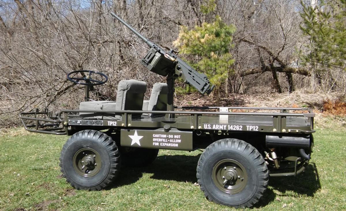 Larry and Bonita Elsasser's M274, restored by MV Specialities