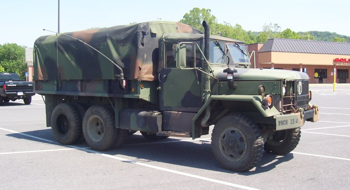 Mike Davidsen's M35A2 with 177 votes.