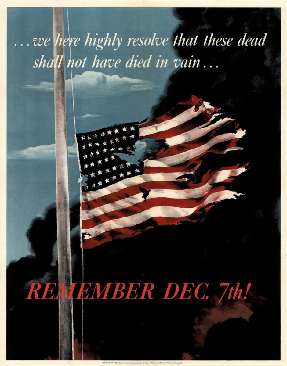 Remember Dec. 7th! poster