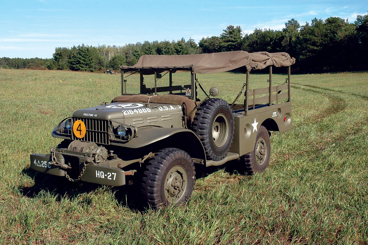 WC-52 restored by the Spooner Military Vehicle Preservation Group.