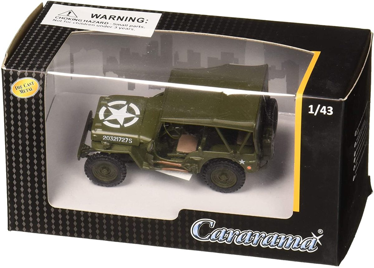 1/43rd Scale Jeep just $13.24!