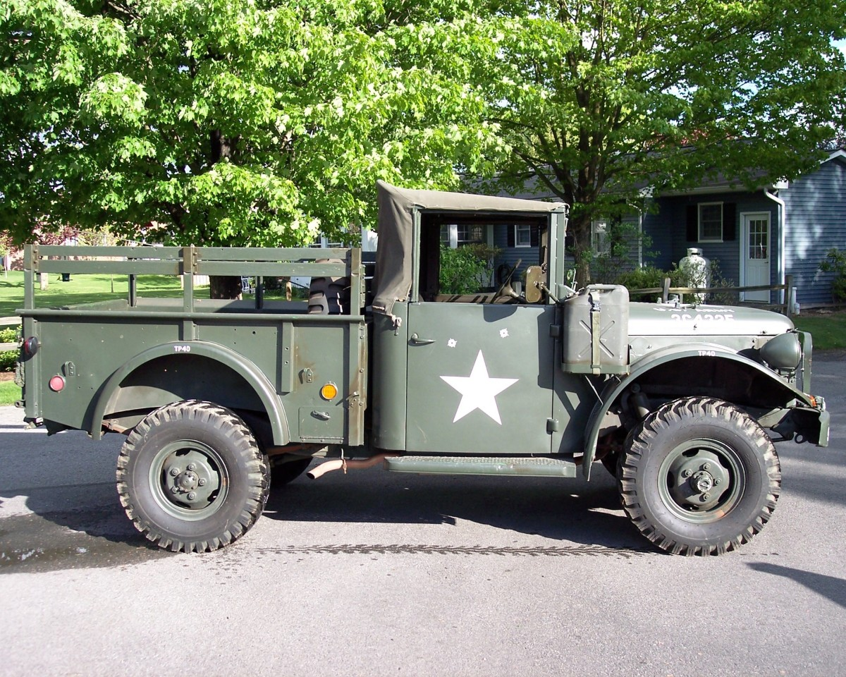 Once Scott decided to recreate a gun truck, the search was on for a suitable candidate to transform. Finally, he found an M37 in Connecticut.