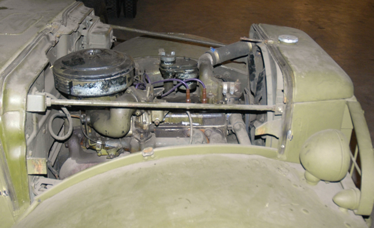 Right side, unrestored, original engine.
