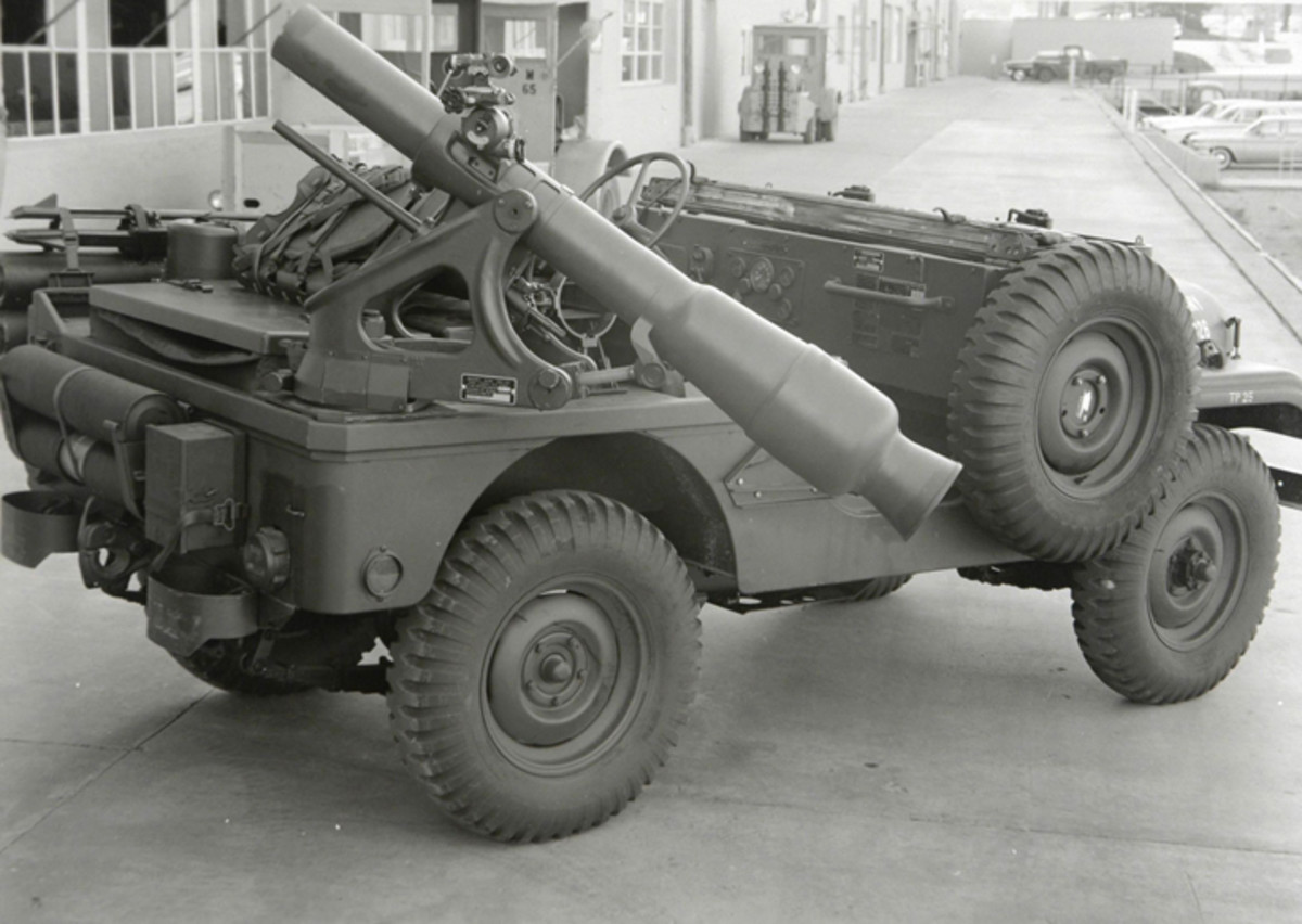 With growing concerns about a Soviet-bloc army with overwhelming numbers, U.S. planners sought a weapon of sufficient power to offset the numeric deficit of weapons. The first iteration of this was the XM-28 featured a 120mm tube firing a XM-388 nuclear round.