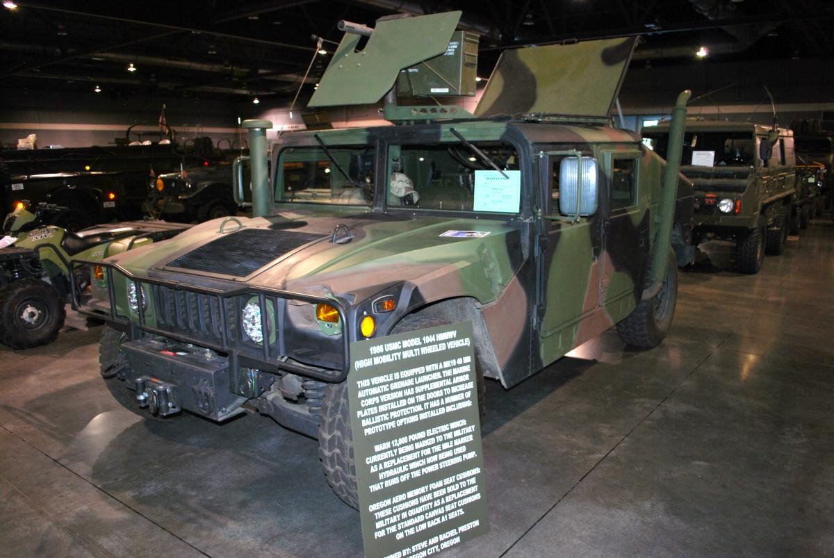 Steve Preston's 1986 M1044 HMMWV