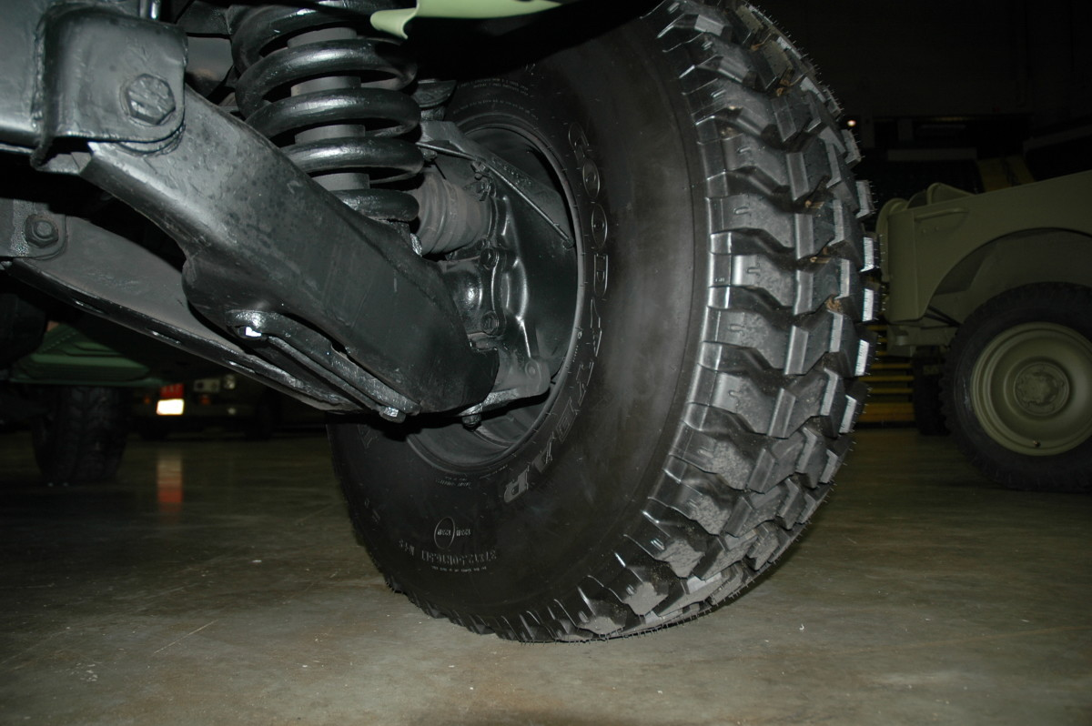 Components such as control arm ball joints, suspension bushings and steering linkage wear out fast in a unit that is driven daily, and much more so if the vehicle is used off-road. As with any vehicle, worn out suspension bushings will affect wheel alignment, causing irregular wear on the tires. Inspect the suspension system carefully on all four wheels.
