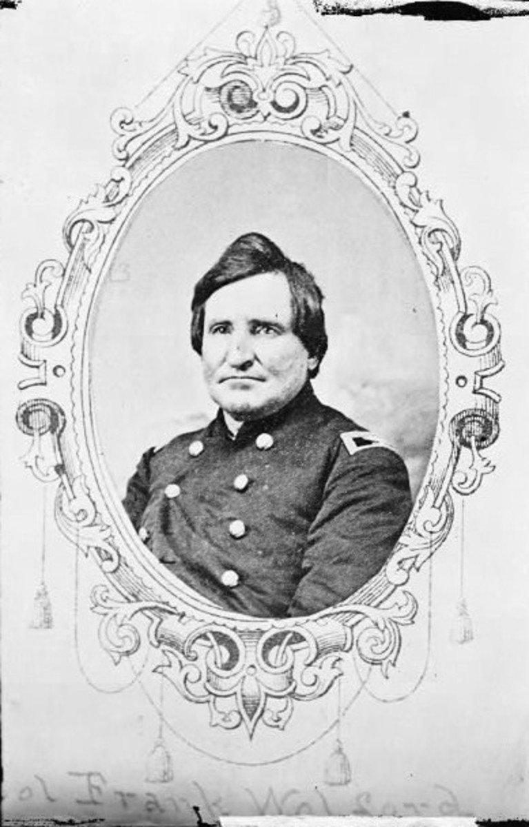 Colonel Frank Wolford commanded the 1st Kentucky Cavalry during the Civil War.