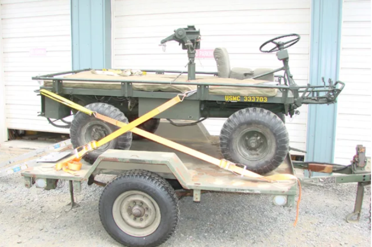 Sometimes, you need a trailer that is just the right size for your smaller military Vehicle.