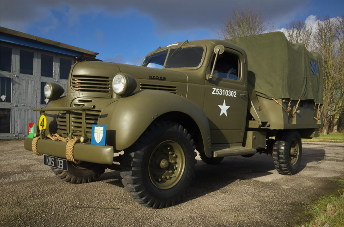 "Simon Balding's grandfather had been a Sergeant in the British Army during WWII. Of the many stories Sgt. Balding told to his grandson were a few of his ""favorite"" truck — a Dodge D15. Simon decided he would try to find his grandfather's truck. He didn't know what a challenge he had taken!"