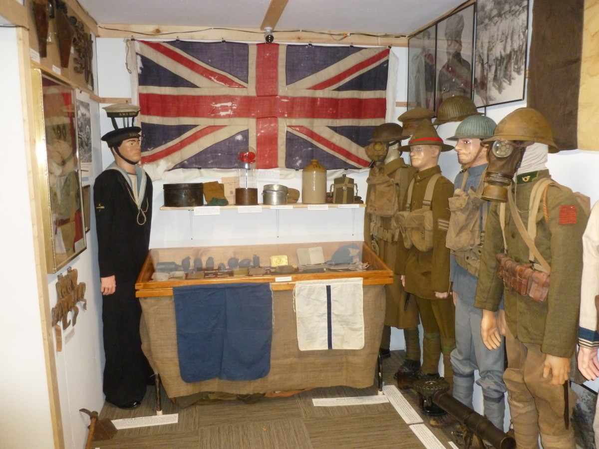The small, delicate, and valuable items are in plexi-covered display cases so Gus is able to allow groups of Scouts and the general public to view the collection with out direct supervision. Video cameras cover the entire collection so if something was to go missing, it would be very easy to find what happened to it.