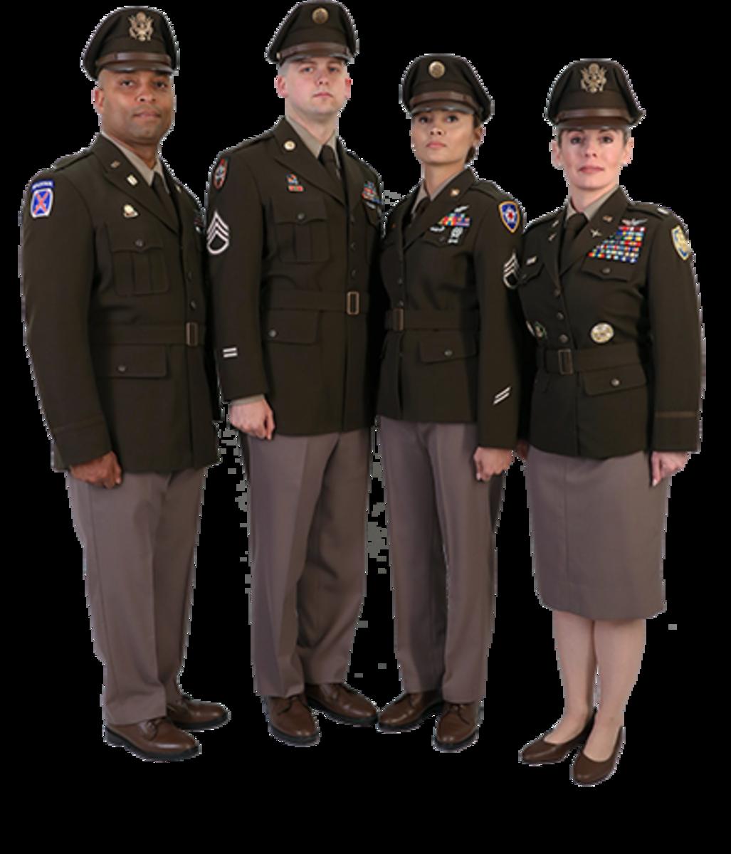 WWII-inspired prototype uniforms