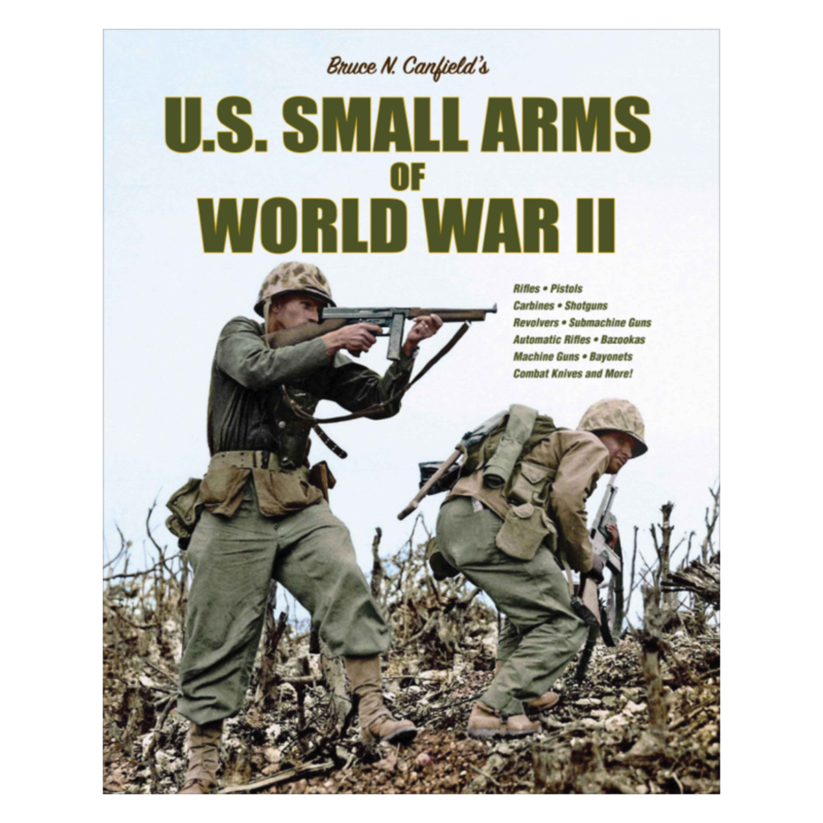 U.S. Small Arms of World War II, by Bruce N. Canfield published at $95.