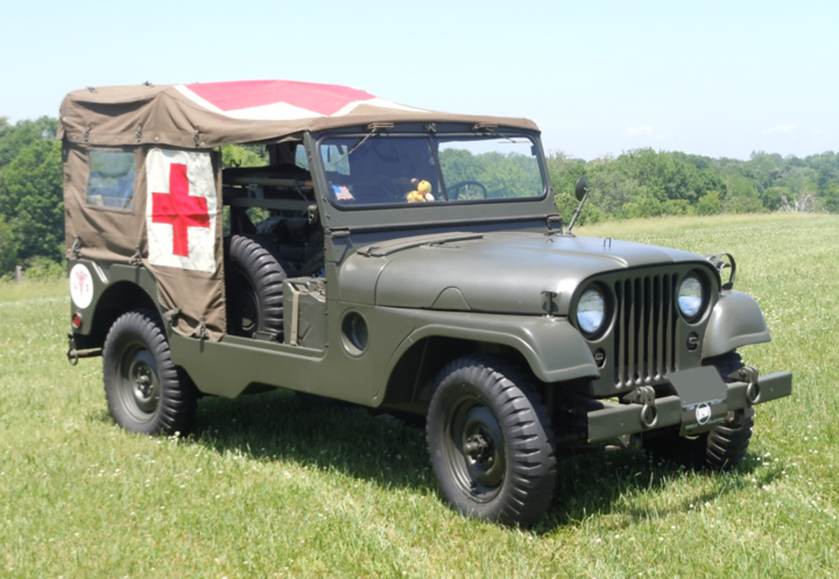 1954 M170 Frontline Ambulance restored by Gary Keating.