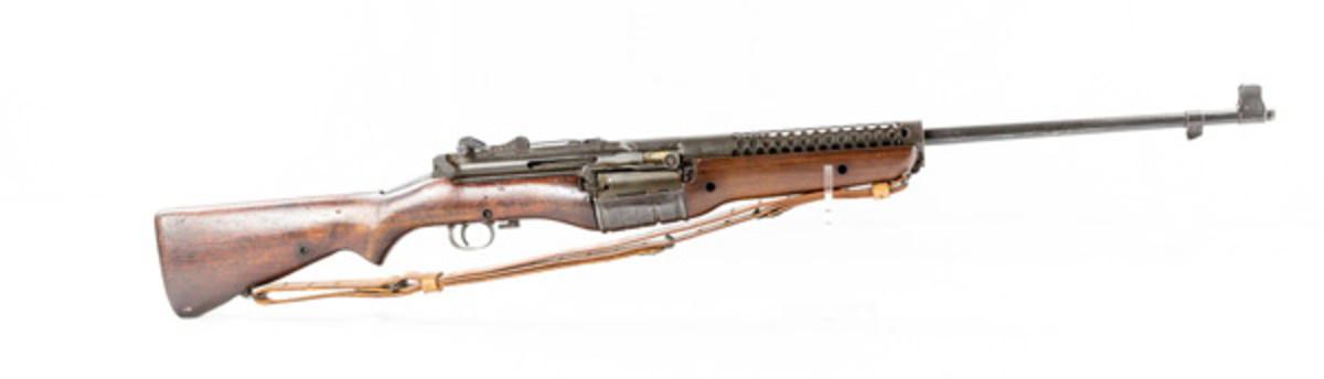 Lot #1118 Johnson M1941 30-06 Caliber Rifle