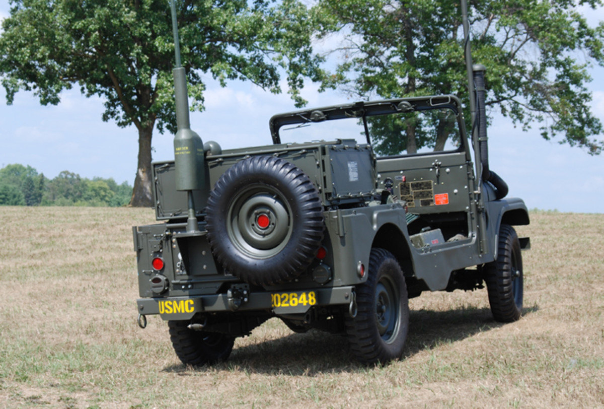 """It took seven years to restore, but Paul Vandevort's work paid off. In 2014, his Jeep was judged, """"Best of Class"""" at the International MVPA Convention."""