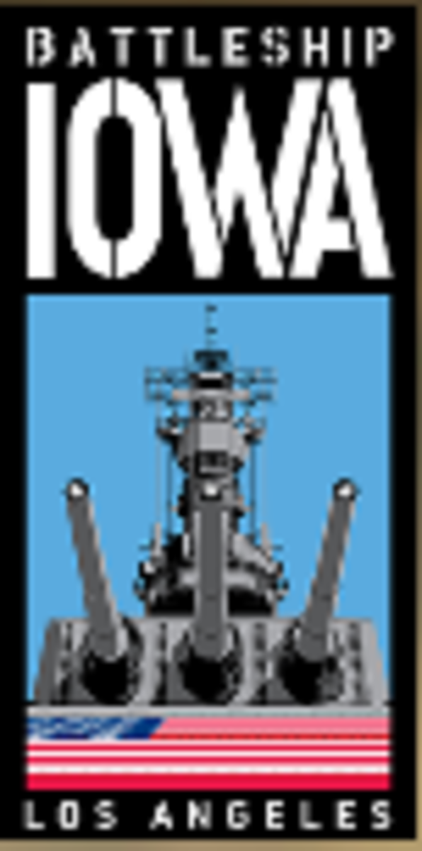 USS IOWA LOGO
