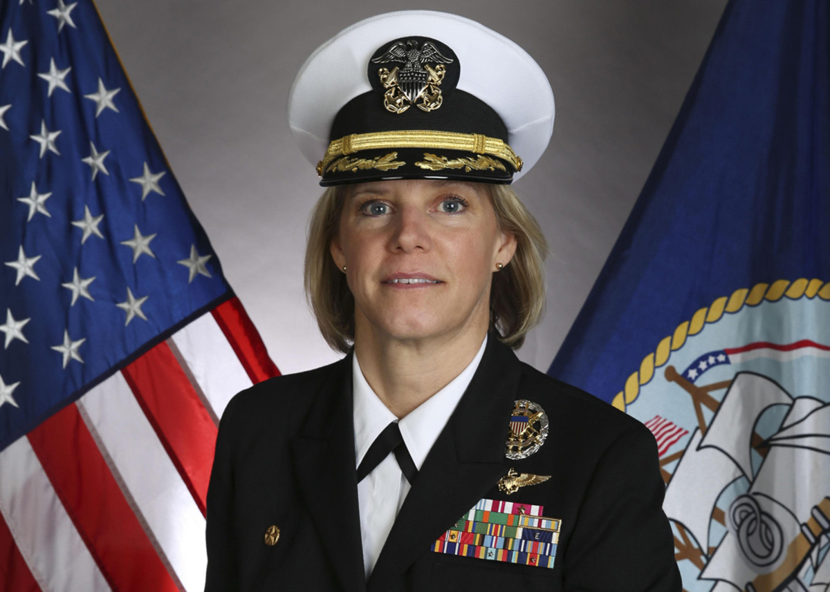 Capt. Bauernschmidt poses for a roster photo. U.S. Navy Courtesy Photo (Released)